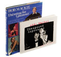 Movie/TV Memorabilia, Liza Minnelli (2) author-inscribed books, Andy Warhol: Unexposed Exposures by Bob Colacello, and Dressing for Glamour by Bob M...