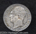 Belgium: , Belgium: Leopold I 20 Centimes 1853, KM19, with periods, choice AU,lightly toned and very attractive. ...