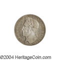 Belgium: , Belgium: Leopold I 1/2 franc 1835, with Signature, Bust left/Dateand value, Dup-128, KM6, Lightly toned, Choice Proof. Rare! ...