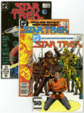Modern Age (1980-Present):Science Fiction, Star Trek Box Lot (DC, 1985-96) Condition: Average NM....
