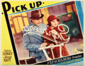 Movie Posters, Sylvia Sidney (7) lobby cards from Pick Up. . ...