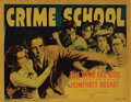Movie Posters, Humphrey Bogart (6) lobby cards from Crime School. . ...
