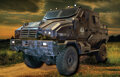 Movie/TV Memorabilia, Hunger Games Peacekeeper military vehicle (open bed)....