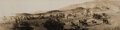 Movie/TV Memorabilia, D.W. Griffith panoramic photograph of the first scene ever shot for The Birth of a Nation. ...