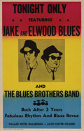 """Movie/TV Memorabilia, Dan Akroyd and John Belushi """"The Blues Brothers"""" poster from The Blues Brothers...."""