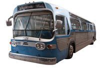 """The hero GM Bus """"2525"""" from Speed"""