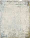 Movie/TV Memorabilia, Screen-used Declaration of Independence from National Treasure. ...