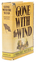 Movie/TV Memorabilia, Margaret Mitchell signed first edition, first printing of Gone With the Wind. ...