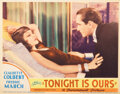Movie Posters, Claudette Colbert (7) lobby cards and (1) midget window card from 3 films. . ...