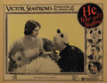 Movie Posters, Lon Chaney, Sr. and Norma Shearer lobby card from He Who Gets Slapped. . ...