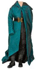 """Movie/TV Memorabilia, """"Katniss Everdeen"""" disguise cloak with combat ensemble from The Hunger Games: Mockingjay - Part 2...."""