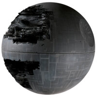 """Industrial Light and Magic """"Death Star"""" model from Star Wars: Episode VI - Return of the Jedi"""