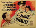 Movie Posters, Humphrey Bogart (12) lobby cards and (1) insert poster card from 4 films. . ...
