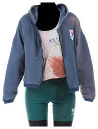 """Teri Hatcher """"Becky Foxx"""" distressed costume from 2 Days in the Valley"""