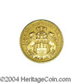 German States:Hamburg, German States: Hamburg. Gold 10 Mark 1912-J, KM292, Gem Proof with an attractive cameo effect on both sides. Rare in Proof!...