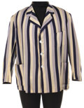"""Movie/TV Memorabilia, Oliver Hardy """"Ollie"""" jacket from Saps at Sea...."""