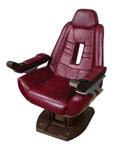 """Movie/TV Memorabilia, Patrick Stewart """"Capt. Picard"""" Enterprise-E Bridge Command Chair with both Ops and Conn Consoles from Star Trek: First Contact..."""