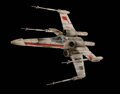 Movie/TV Memorabilia, X-Wing Fighter and TIE Fighter miniatures crafted from the original molds and built by Grant McCune who created the original m...