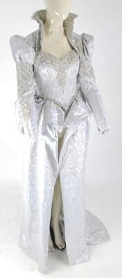 """""""Glinda the Good Witch"""" ivory gown and accessories Once Upon a Time Season 3, Episode 19"""