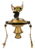 """Movie/TV Memorabilia, """"Crow T. Robot"""" puppet from Mystery Science Theater 3000: The Movie...."""