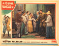 Movie Posters, Humphrey Bogart lobby card for A Devil With Women. . ...