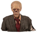 """Movie/TV Memorabilia, KNB EFX """"Zombie"""" bust used to secure network deal for The Walking Dead...."""