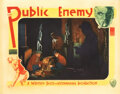 """Movie Posters, Director William Wellman """"Cagney"""" lobby card for The Public Enemy. . ..."""