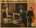 Movie Posters, Fredric March lobby card for Dr. Jekyll and Mr. Hyde. . ...