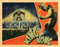 Movie Posters, King Kong On the New York theater stage lobby card. . ...