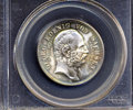 German States:Saxony, German States: Saxony. Friedrich August III 2 Mark 1904E, KM1261 MS67 PCGS, very scarce this choice. Struck to mark the death of Georg....
