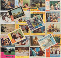 Movie/TV Memorabilia, Massive collection of (1100+) lobby cards featuring hundreds of stars and titles....