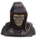 """Movie/TV Memorabilia, James Gregory """"General Ursus"""" screen used helmet from Beneath the Planet of the Apes...."""