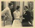Movie/TV Memorabilia, London After Midnight (4) custom photographs including 2-with Tod Browning directing and 2-of Lon Chaney, Sr....