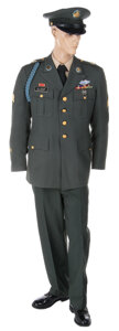 """Movie/TV Memorabilia, Tom Hanks """"Forrest """"complete class a Army dress uniform from Forrest Gump...."""