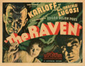 Movie Posters, Boris Karloff title-lobby card for The Raven. . ...