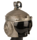"""Movie/TV Memorabilia, Futuristic helmet from The Outer Limits Episode: """"Soldier"""" also worn by Robin Williams on Mork & Mindy...."""