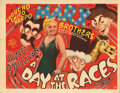 Movie Posters, The Marx Brothers title-lobby card for A Day at the Races. ( . ...