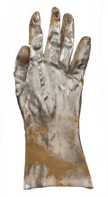 """Movie/TV Memorabilia, Robert Patrick """"T-1000"""" special effects glove and name badge from Terminator 2: Judgment Day...."""