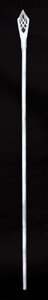 """Movie/TV Memorabilia, Ian McKellan """"Gandalf the White"""" screen-used hero Wizard's Staff from The Lord of the Rings trilogy. ..."""