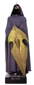 """Movie/TV Memorabilia, """"Elven Warrior"""" screen-used costume and armor display from The Lord of the Rings trilogy. ..."""