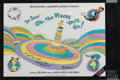 Movie/TV Memorabilia, Dr. Seuss signed poster art and collection of storyboards for Roland Joffé's proposed film adaptation of Oh, the Places You'll...