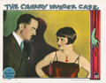 Movie Posters, Louise Brooks lobby card for The Canary Murder Case. . ...