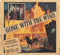 Movie/TV Memorabilia, Gone With the Wind master six-sheet poster art....