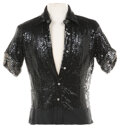 """Movie/TV Memorabilia, Roy Scheider """"Joe Gideon"""" signature sequined shirt from the """"Goodbye Life"""" finale of All That Jazz...."""