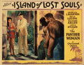 Movie Posters, Charles Laughton lobby card for Island of Lost Souls.. ...