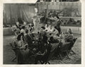 """Movie/TV Memorabilia, Freaks behind the scenes """"wedding feast"""" photograph featuring Tod Browning...."""