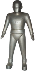 """Movie/TV Memorabilia, """"Gort"""" full-scale robot display figure from The Day the Earth Stood Still...."""