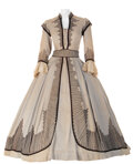 """Movie/TV Memorabilia, Vivien Leigh """"Scarlett O'Hara"""" Traveling Dress from Gone with the Wind...."""