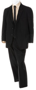 """Movie/TV Memorabilia, John Belushi """"Jake Blues"""" suit worn during live/stage performances with the Blues Brothers Band...."""