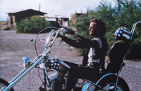 "Peter Fonda's ""Wyatt"" iconic screen-used ""Captain America"" panhead chopper from Easy Rider"